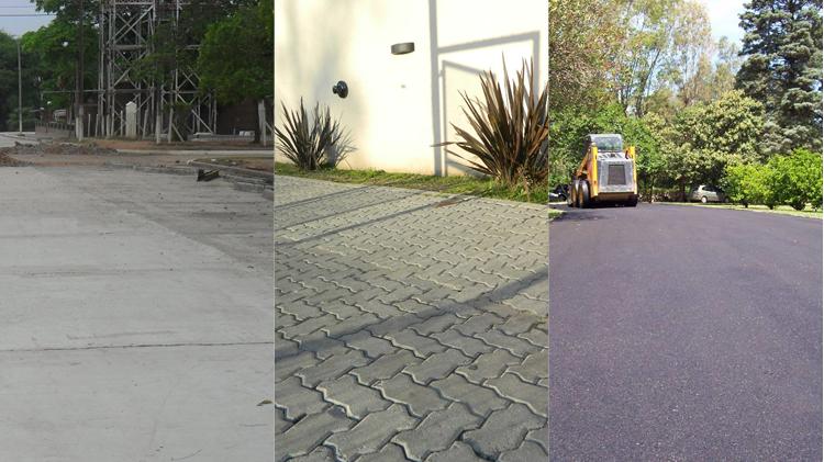 Diferencias entre pavimento de hormig n pavimento de for Pavimentos de hormigon
